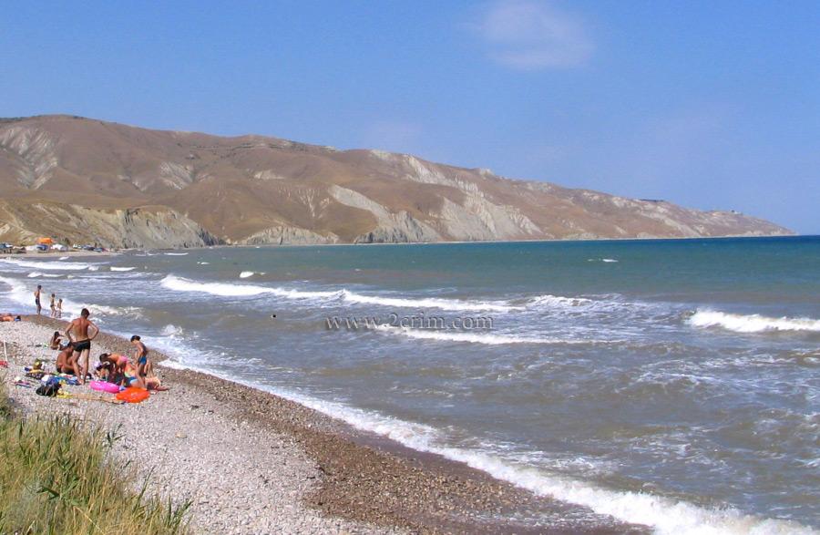 крым орджоникидзе фото пляжей