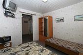 4х местный номер в Гостевом доме в Орджоникидзе, Феодосия, Крыму