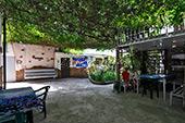 Беседка гостевого дома Уютный дворик на Садовой в Орджоникидзе - Феодосия (Крым)