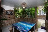 Беседка - Двор гостевого дома Уютный дворик на Садовой в Орджоникидзе - Феодосия (Крым)