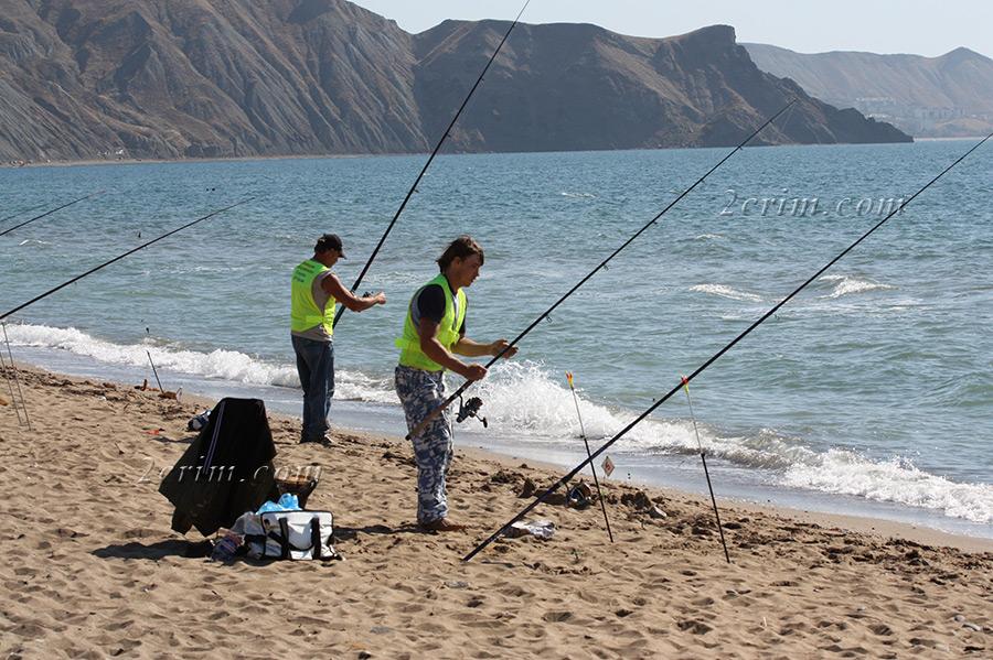 рыбалка в орджоникидзе с берега