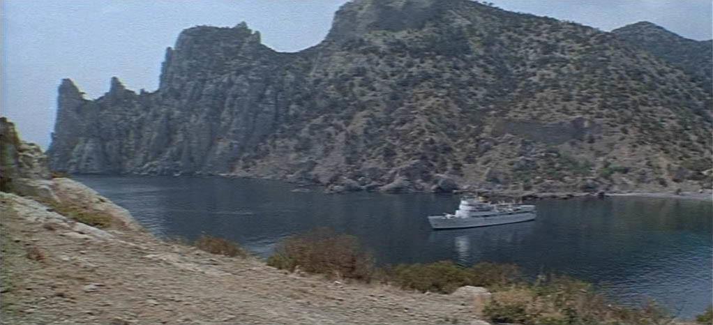 Фильм Пираты 20 века в Орджоникидзе - Крым.
