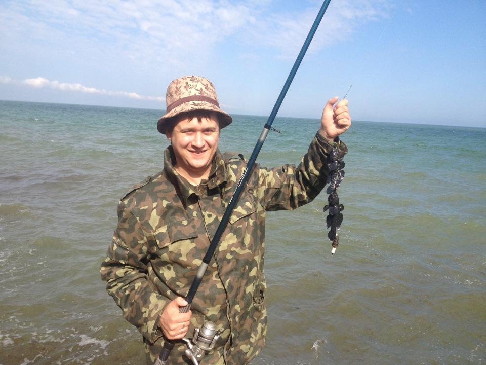 крым рыбалка в черноморском