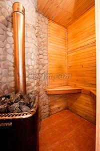 Сауна в Гостевом доме - душ.
